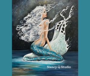 Mermaid Wall Art image