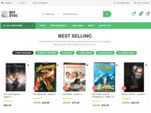 Buy DVDs Online UK
