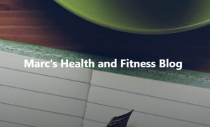 Marc's Health and Fitness Blog