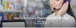 Pharma Sales Rep