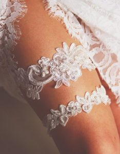 Lace Garter For Wedding