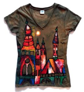 Hand-Painted Tee-Shirts