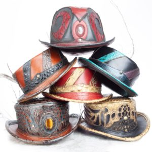 Handcrafted Leather Hats