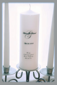 Personalized Unity Candle Set