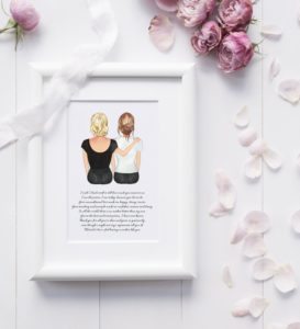 Mother and Daughter Print