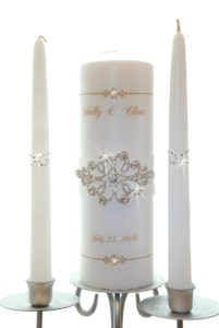 Unity Candle Bling Set