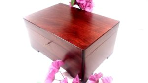 Mahogany Linden Wood Box