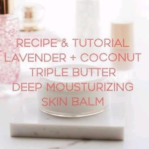 Lavender and Coconut Body Butter