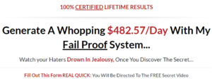 Fail Proof Online System